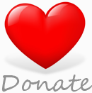 Donate to Growls - Big Red Heart
